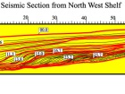 West Andros Seismic Line (after Sen et al., 1999