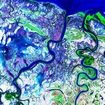 Leichrdt River Carpentaria False Color MrSid Nasa