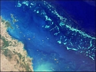 East Of Mackay Australia Great Barrier Reef NASA